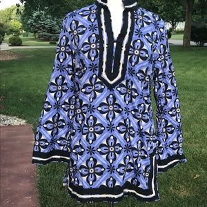 Dana Buchman Cotton Tunic